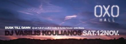 DJ Vassilis Koulianos @ OXO Hall, Cyprus